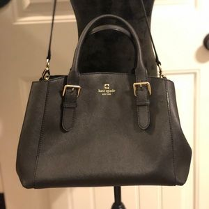 Kate Spade black purse tote